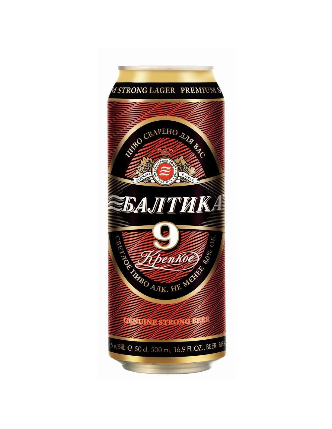 Bere Baltika 9 Strong 0.45l