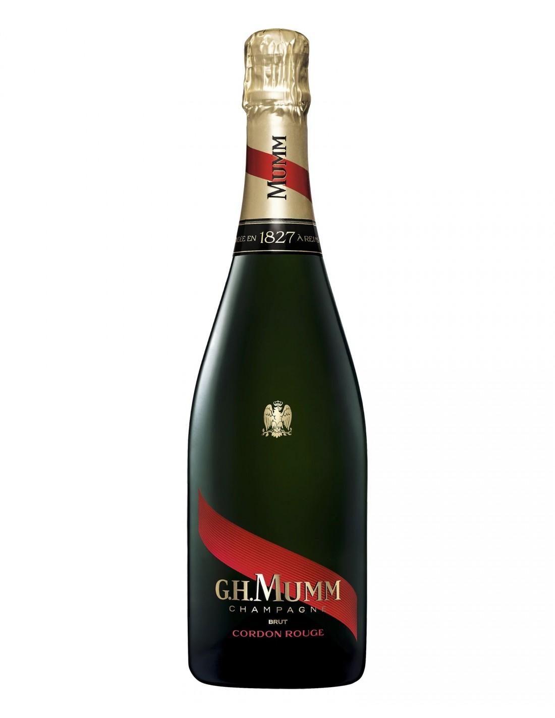 Sampanie, G.H Mumm Cordon Rouge Champagne, 0.75L, 12% alc., Franta
