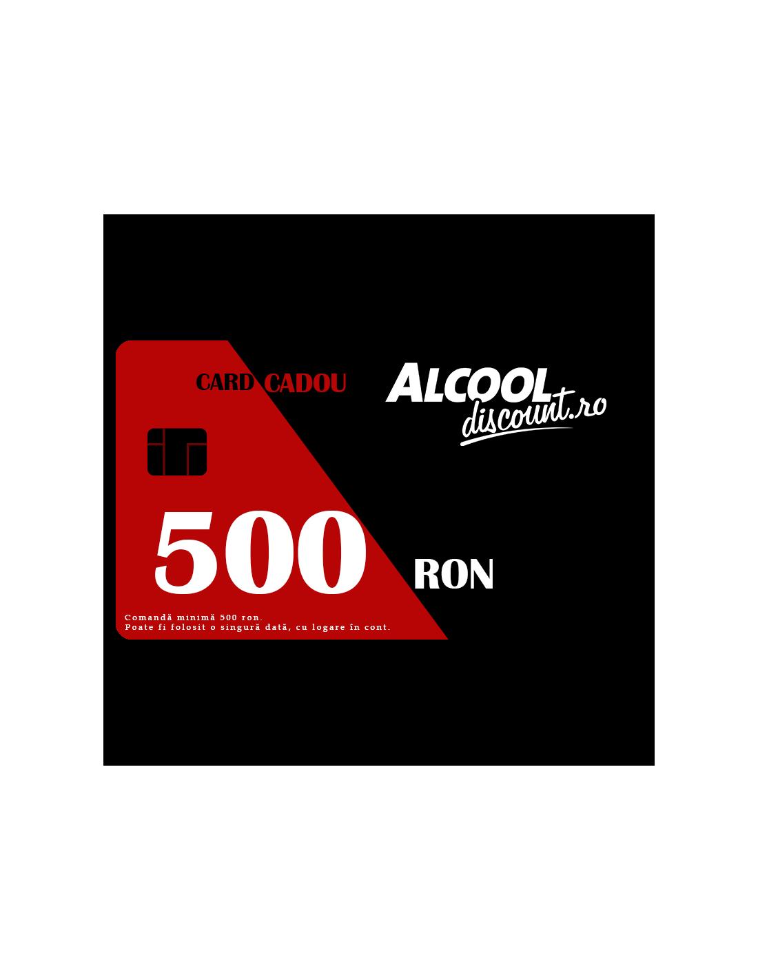 CARD CADOU 500 RON