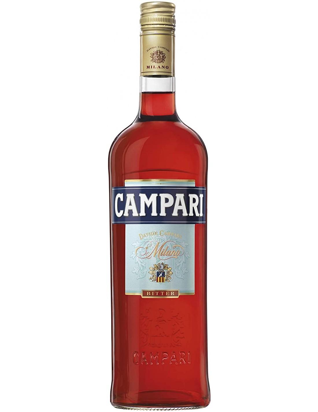 Vermut Campari Bitter, 25% alc., 1L, Italia