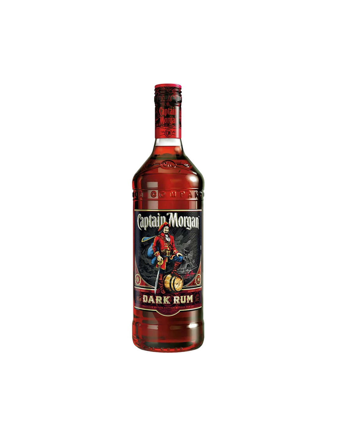 Rom negru Captain Morgan, 40% alc., 0.7L, Jamaica
