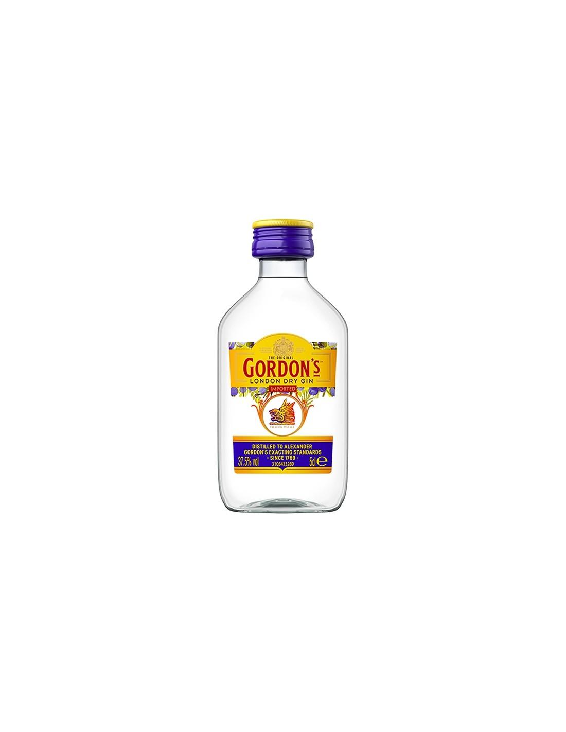 Gin Gordon's Dry, 37.5% alc, 0.05L, Anglia