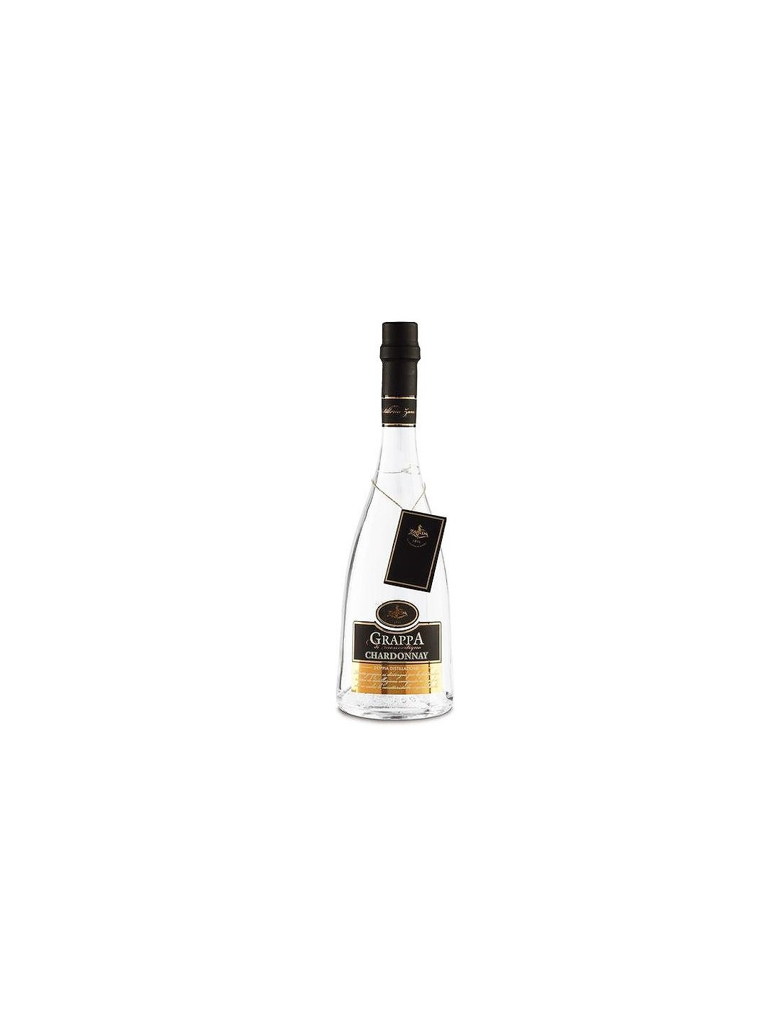 Bautura traditionala Grappa Chardonnay, 40% alc., 0.7L, Italia