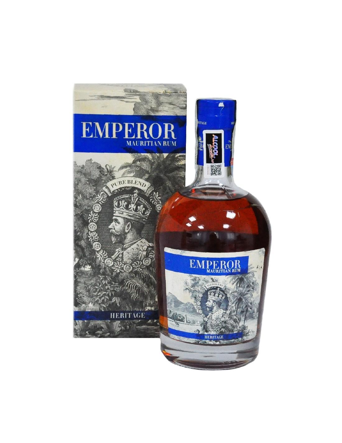 Rom Emperor Mauritian Heritage + GB, 40%, 0.7L