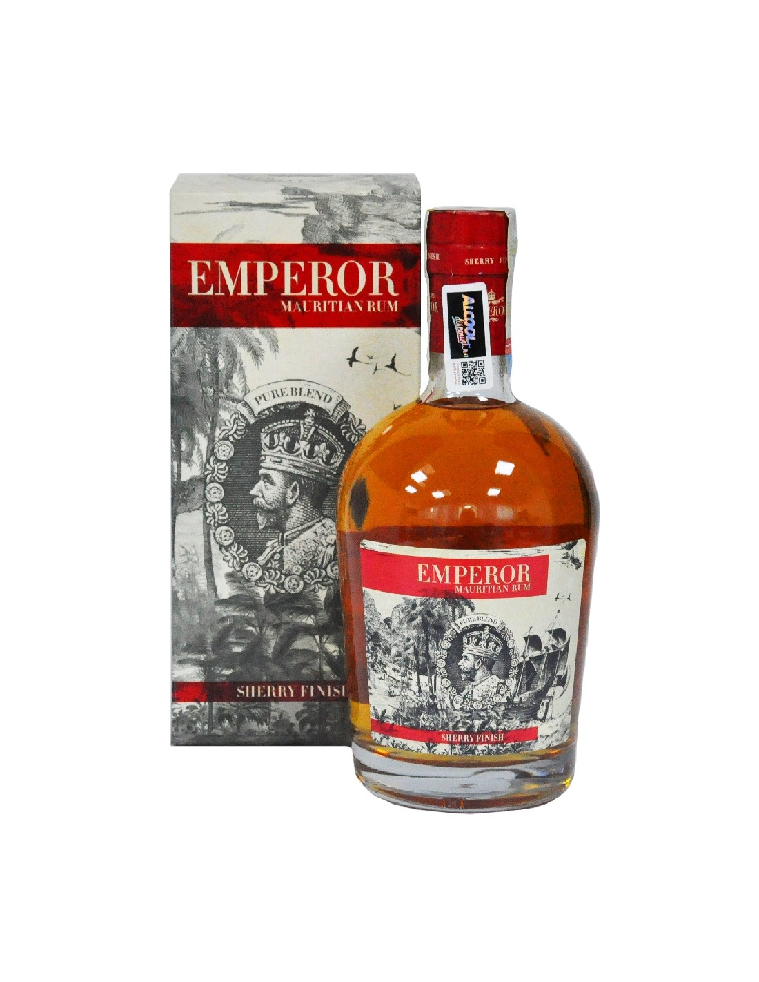Rom Emperor Mauritian Sherry + GB, 40%, 0.7L