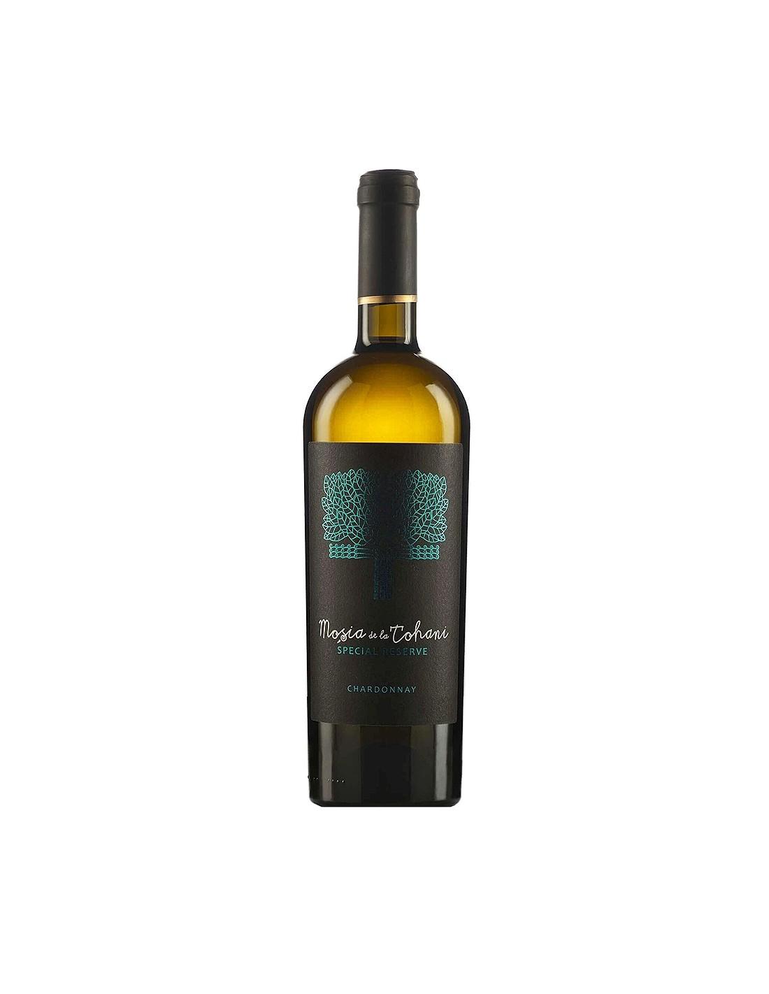 Vin alb sec, Chardonnay, Mosia Tohani Special Reserve, 13.5% alc, 0.75L, Romania