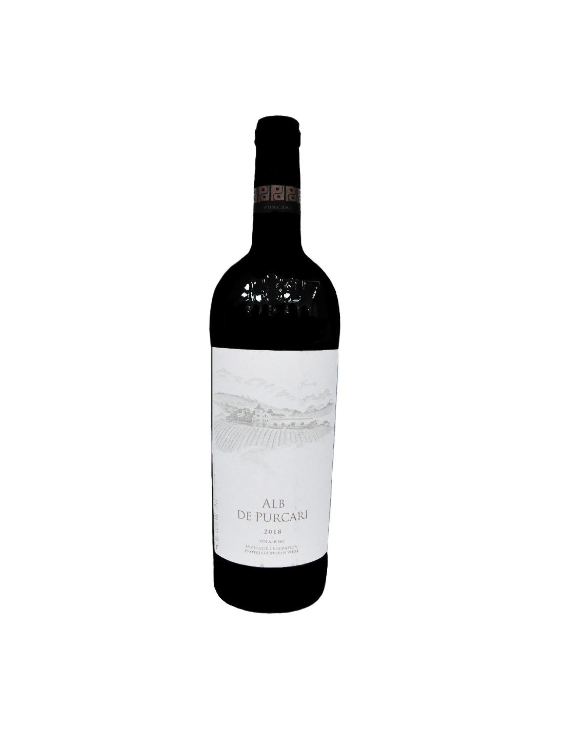 Vin alb sec, Alb de Purcari, 13.5% alc., 0.75L, Republica Moldova