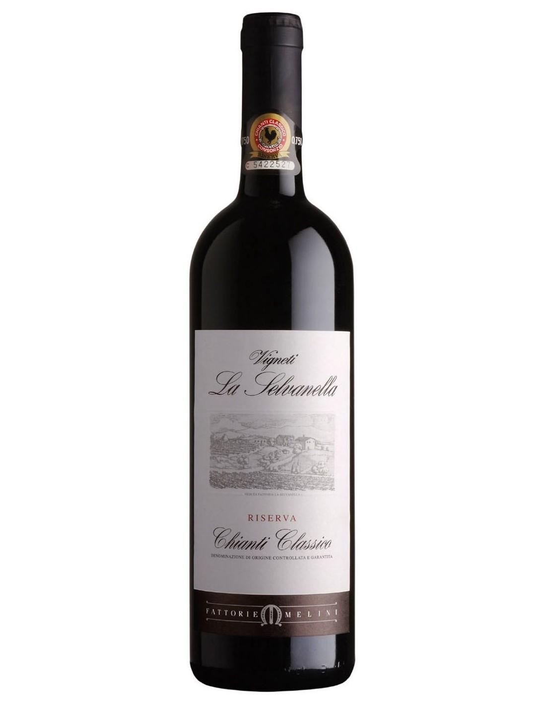 Vin rosu sec Vignetila La Selvanella, Riserva, 14.5% alc., 0.75L, Italia