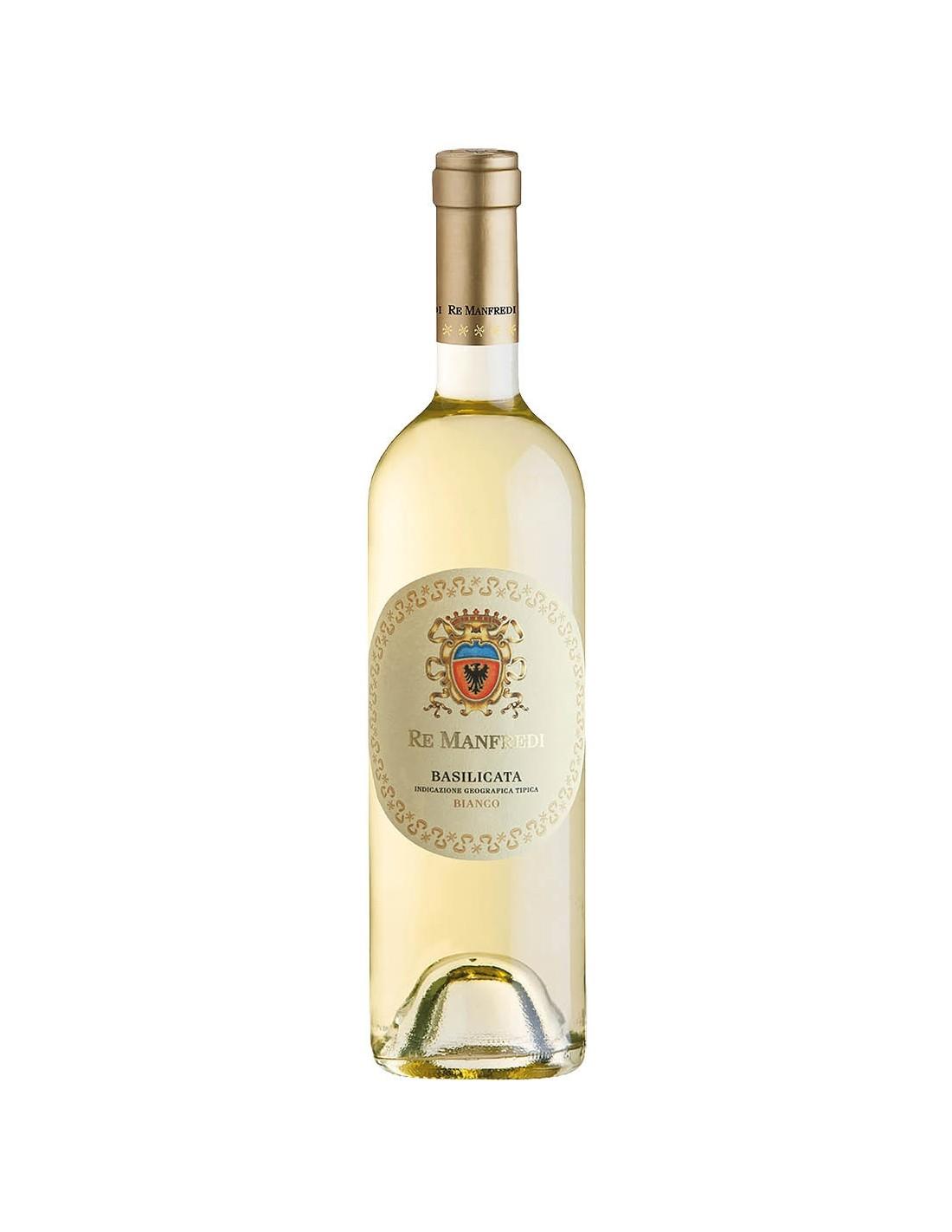 Vin alb Re Manfredi Bianco Basilicata, 13% alc., 0.75 L, Italia