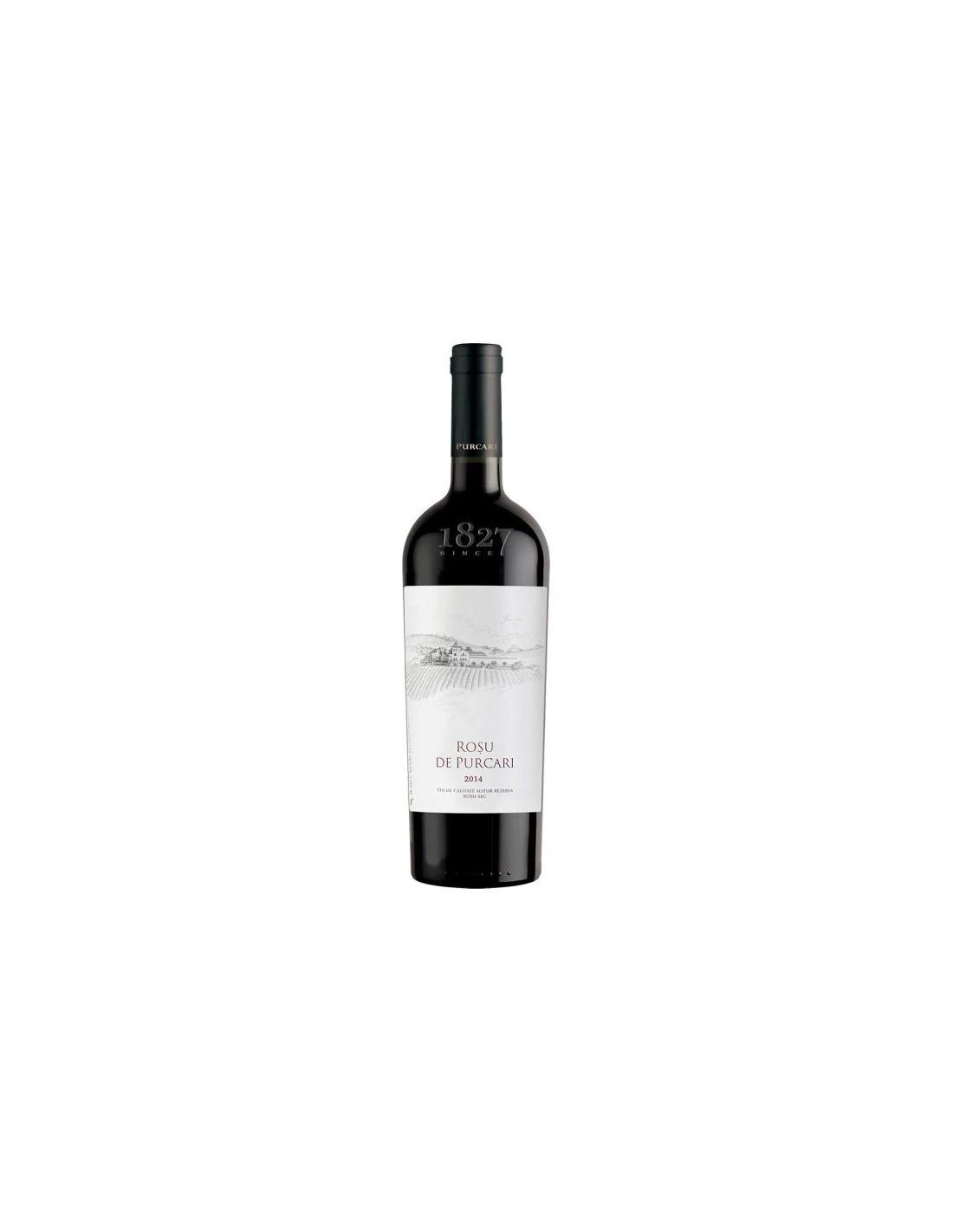 Vin rosu sec, Cupaj, Rosu de Purcari, 13.5% alc., 0.75L, Republica Moldova