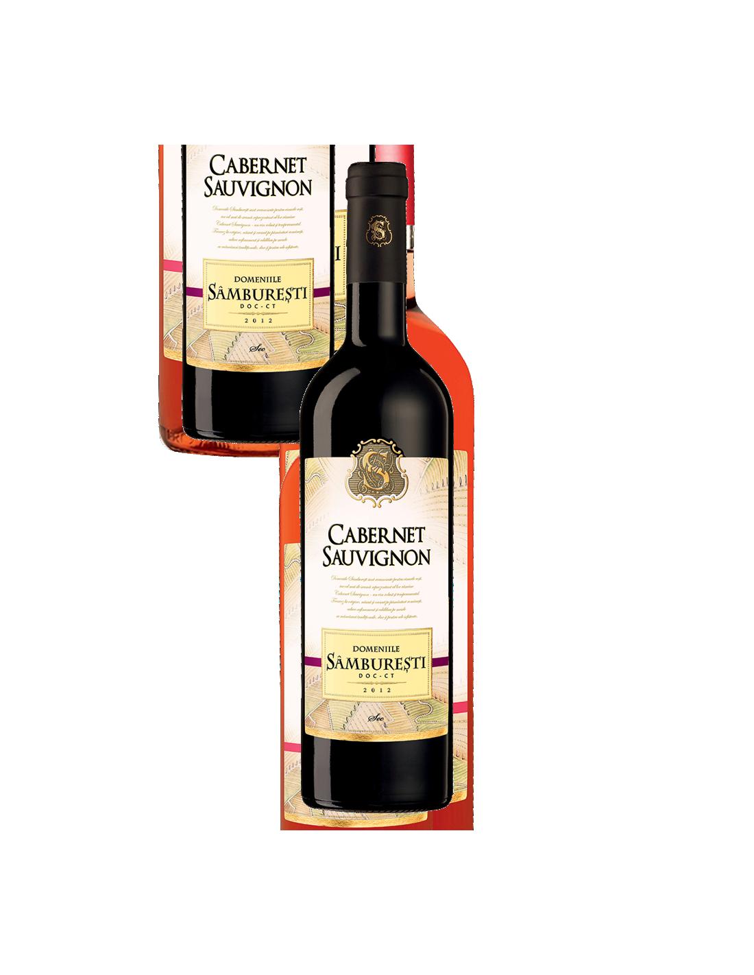 Vin rosu, Cabernet Sauvignon, Domeniile Samburesti, 14% alc., 0.75L, Romania