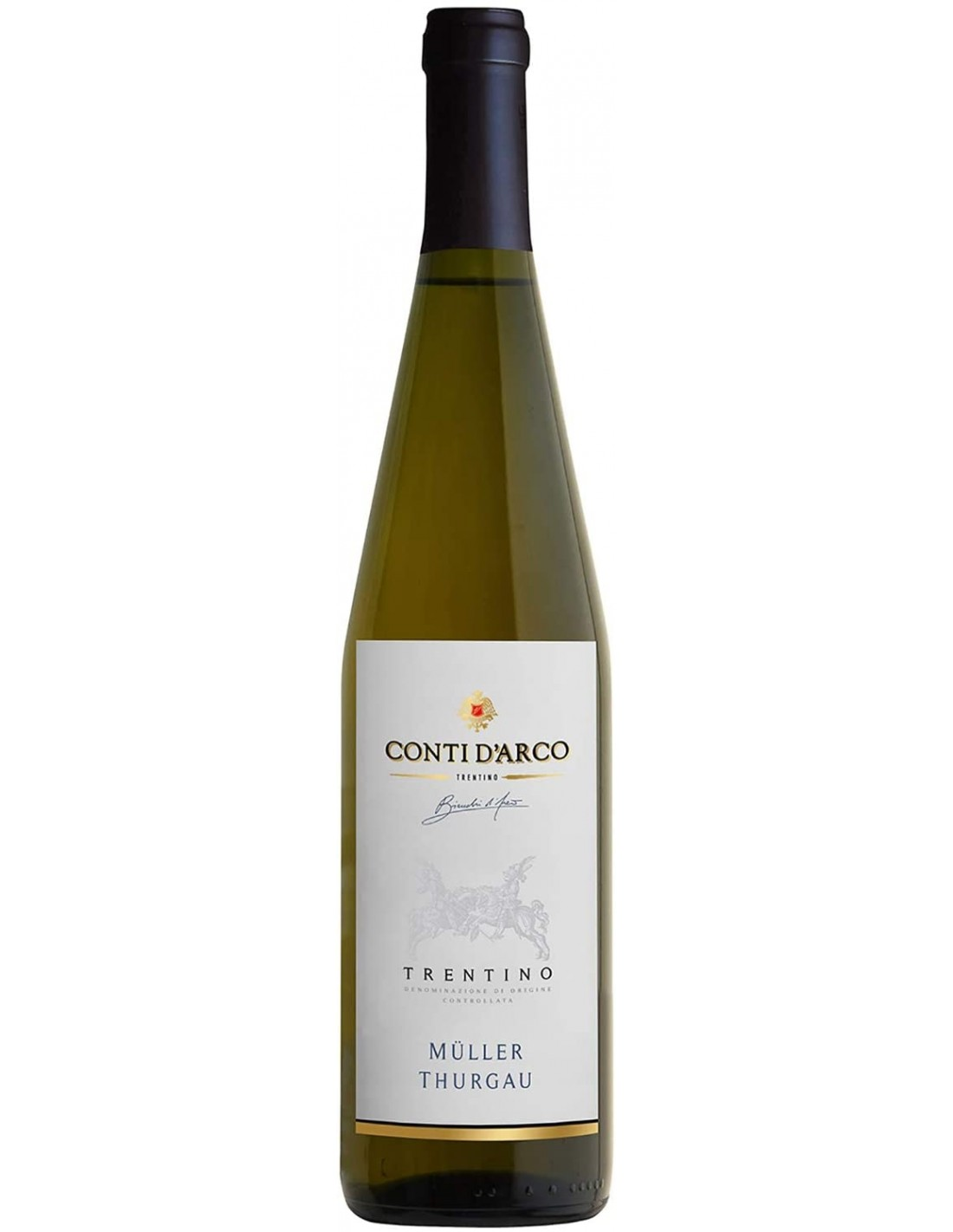 Vin frizzante, Müller-Thurgau, Conti D'Arco Trentino, 12% alc., 0.75L, Italia