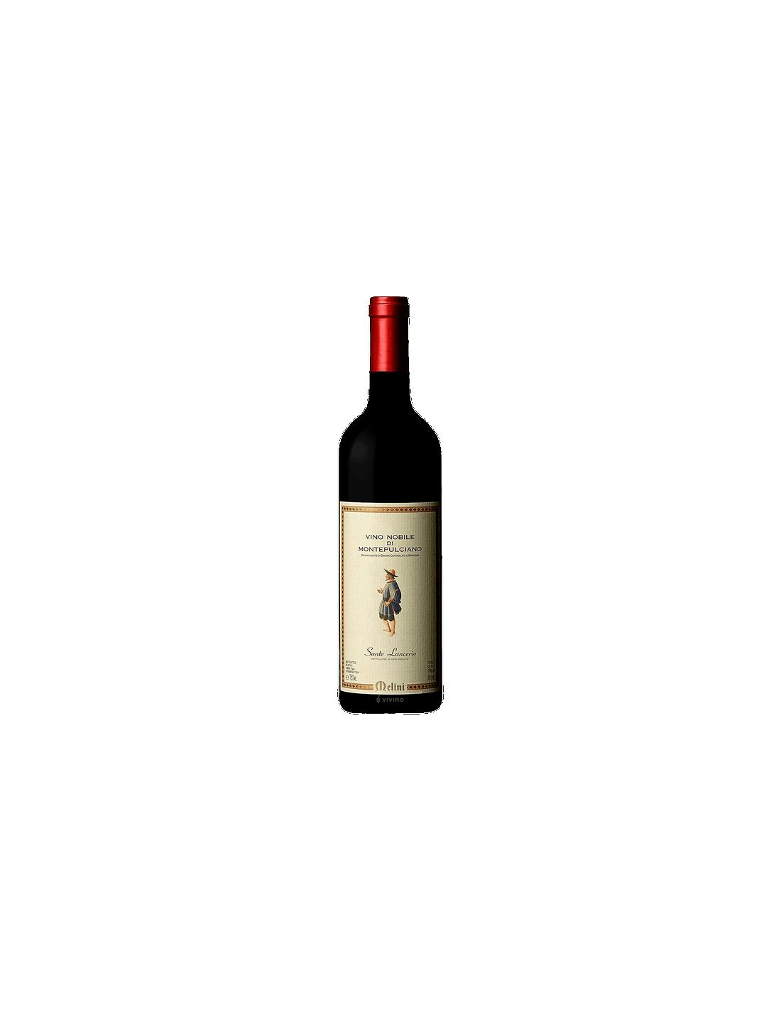 Vin rosu Melini Sante Lancerino Montepulciano, 13.5% alc., 0.75L, Italia