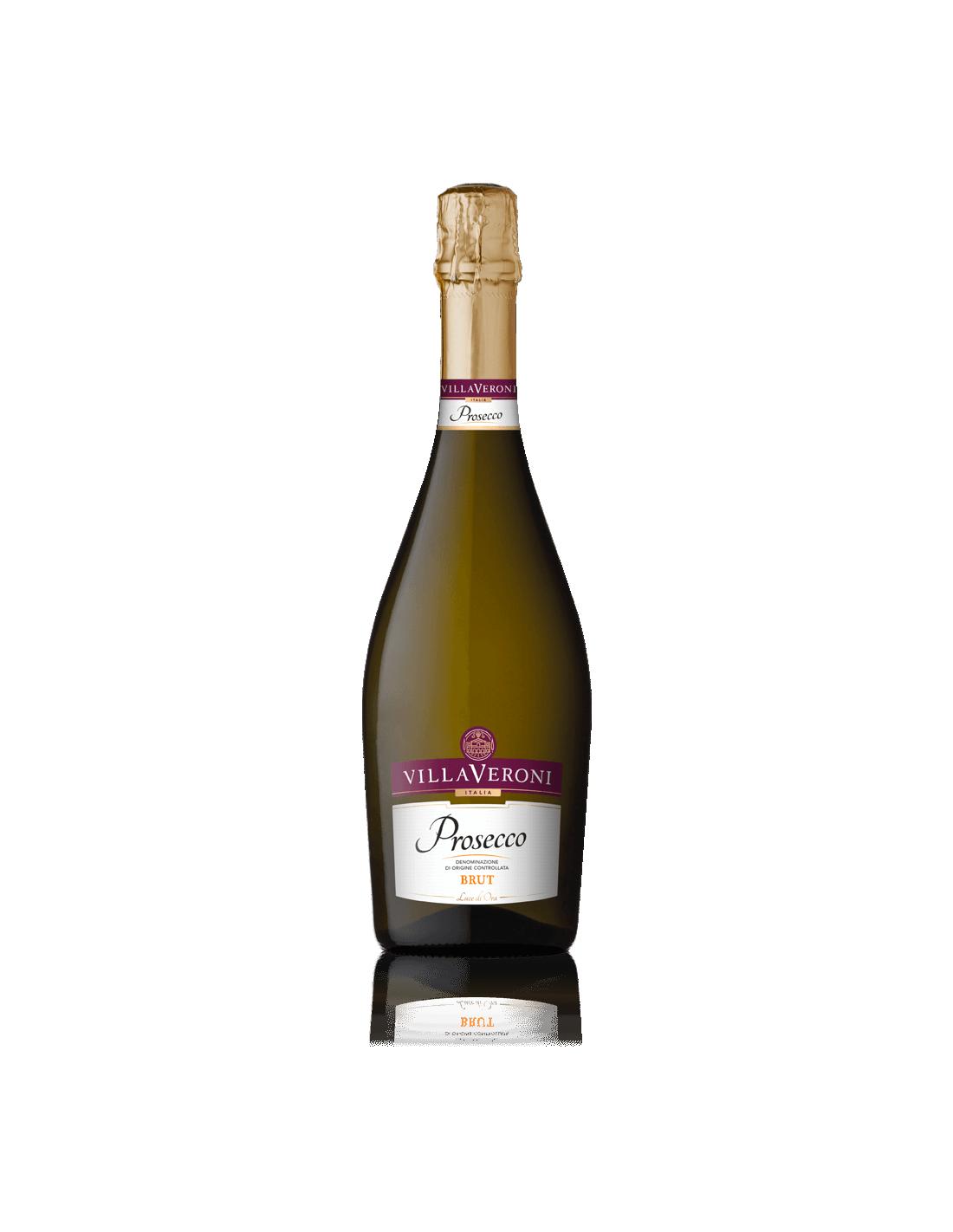 Vin prosecco, Villa Veroni Brut, 11.5% alc., 0.75L, Italia