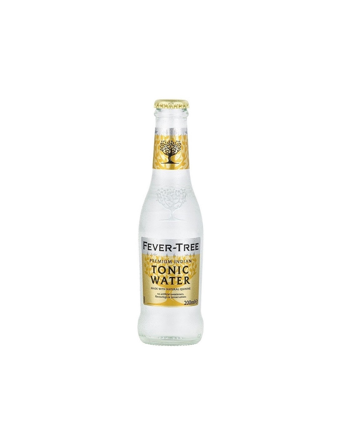 Apa tonica Fever-Tree Premium Indian, 0.2L