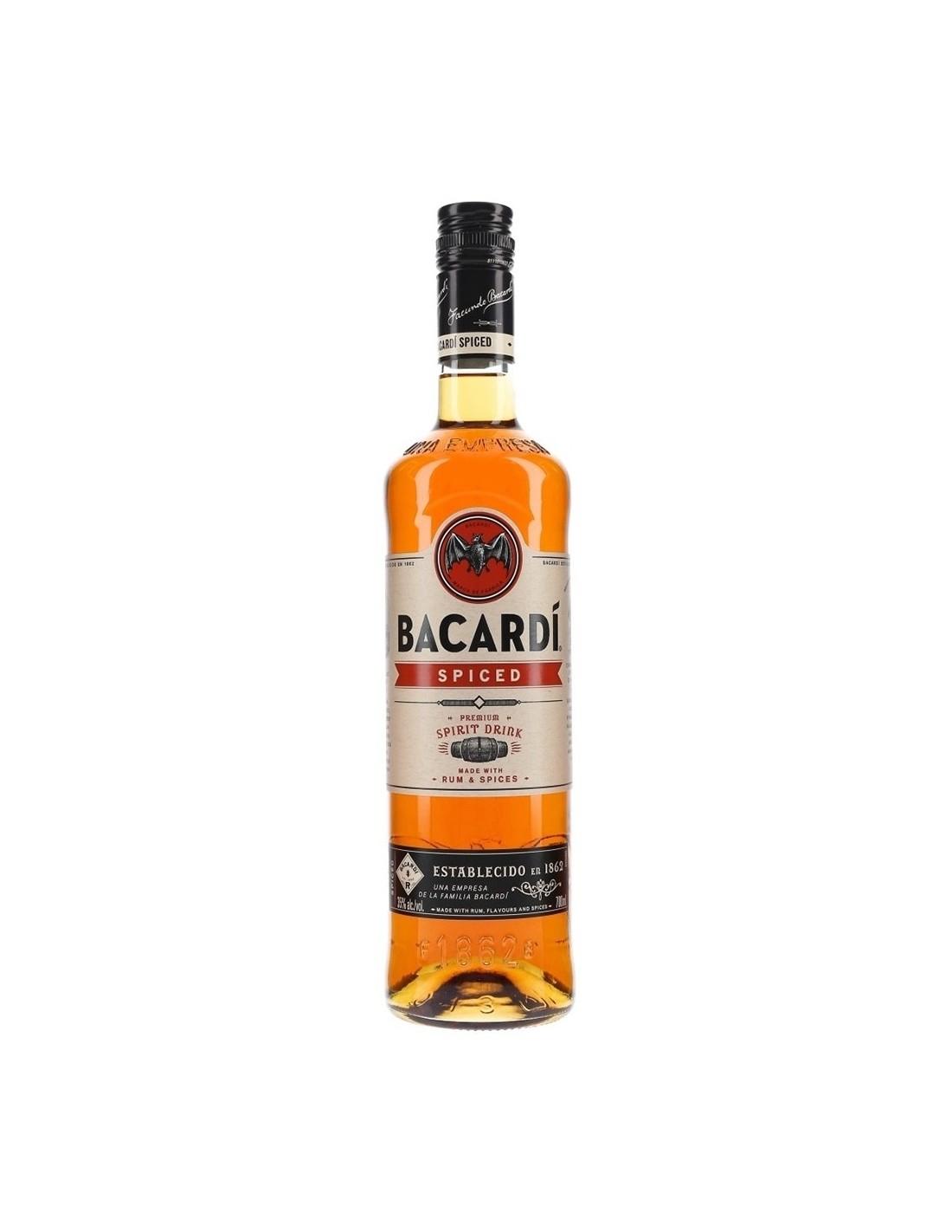 Rom Bacardi Spiced, 35% alc., 0.7L, Cuba