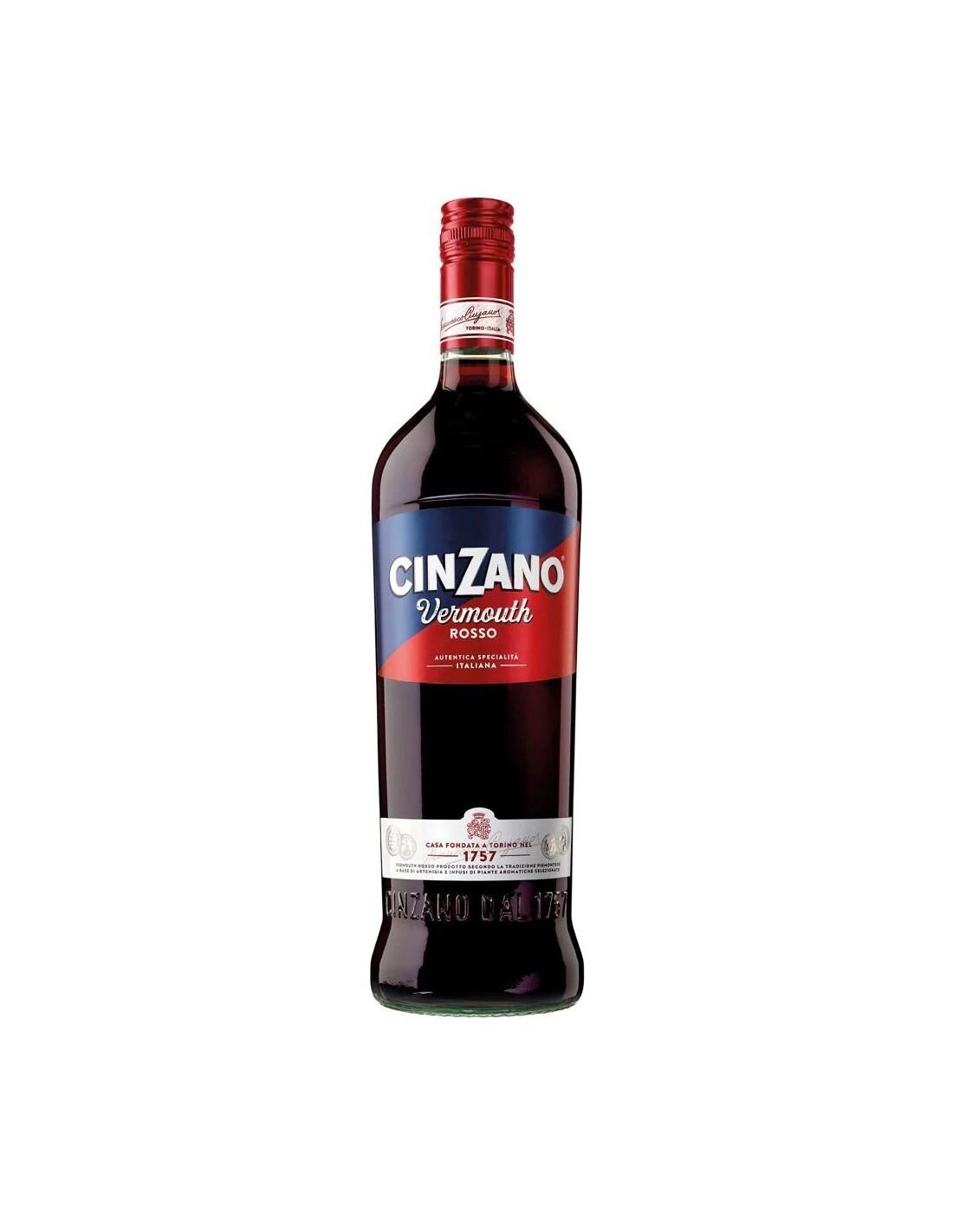 Vermut Cinzano Rosso, 15% alc., 1L, Italia
