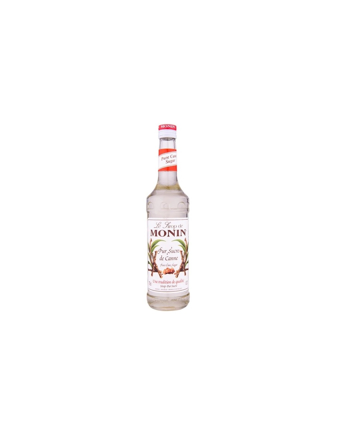 Sirop cocktail Monin Pur Sucre De Cannes, 0.7L, Franta