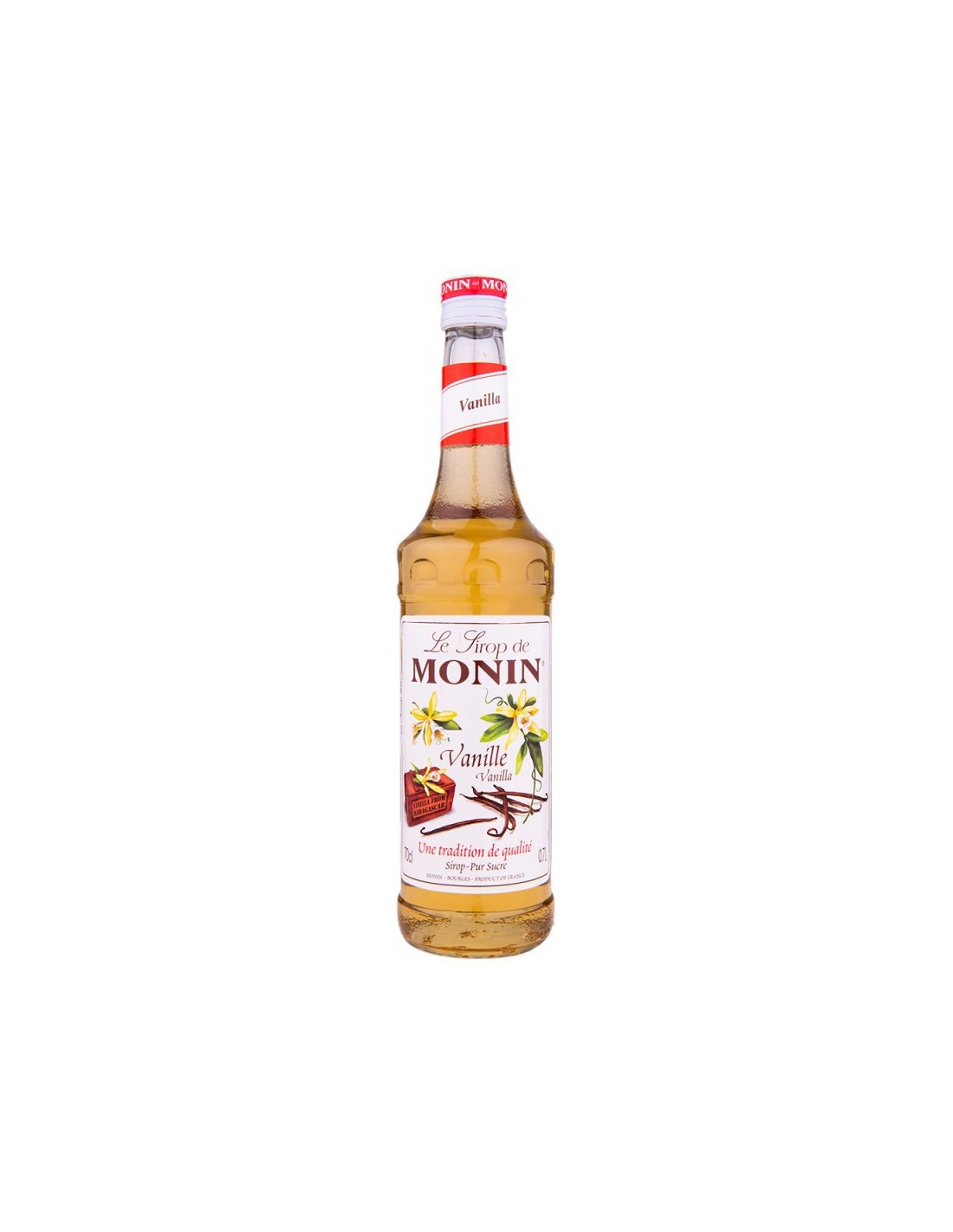 Sirop cocktail Monin Vanilla, 0.7L, Franta