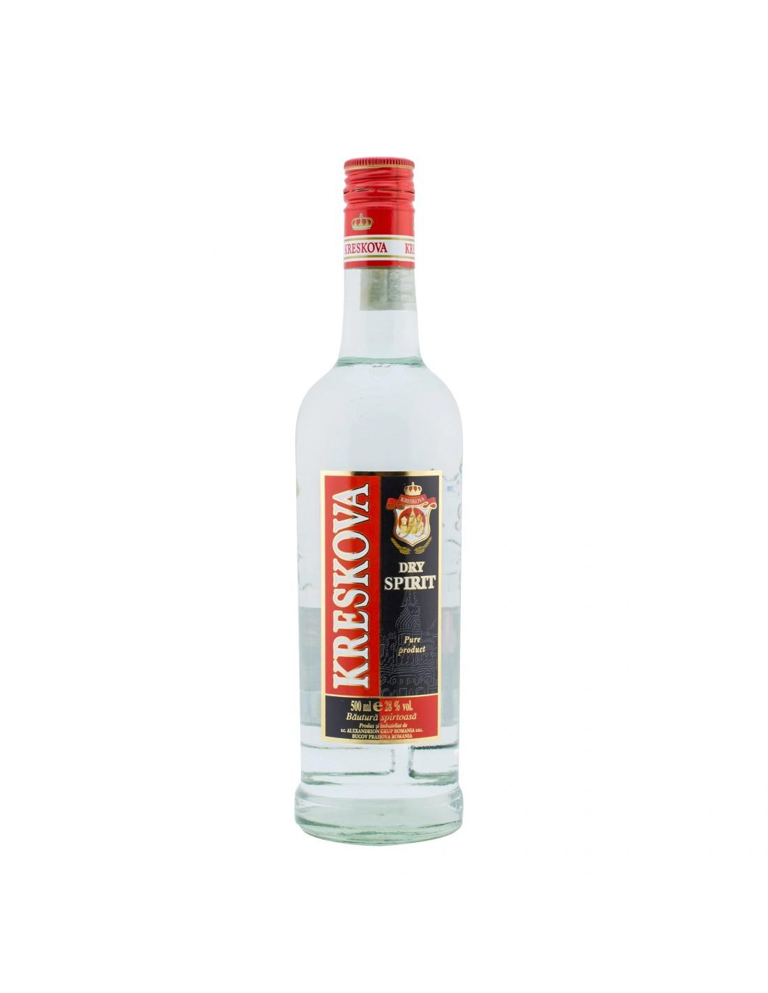 Vodca Kreskova 0.5L, 28% alc., Romania