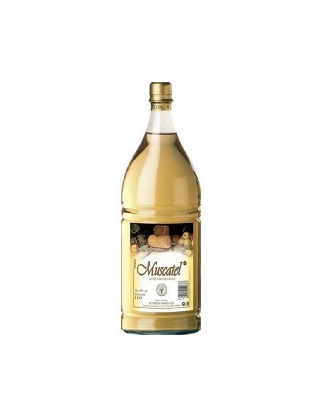 Vin alb demidulce, Muscatel, 2L