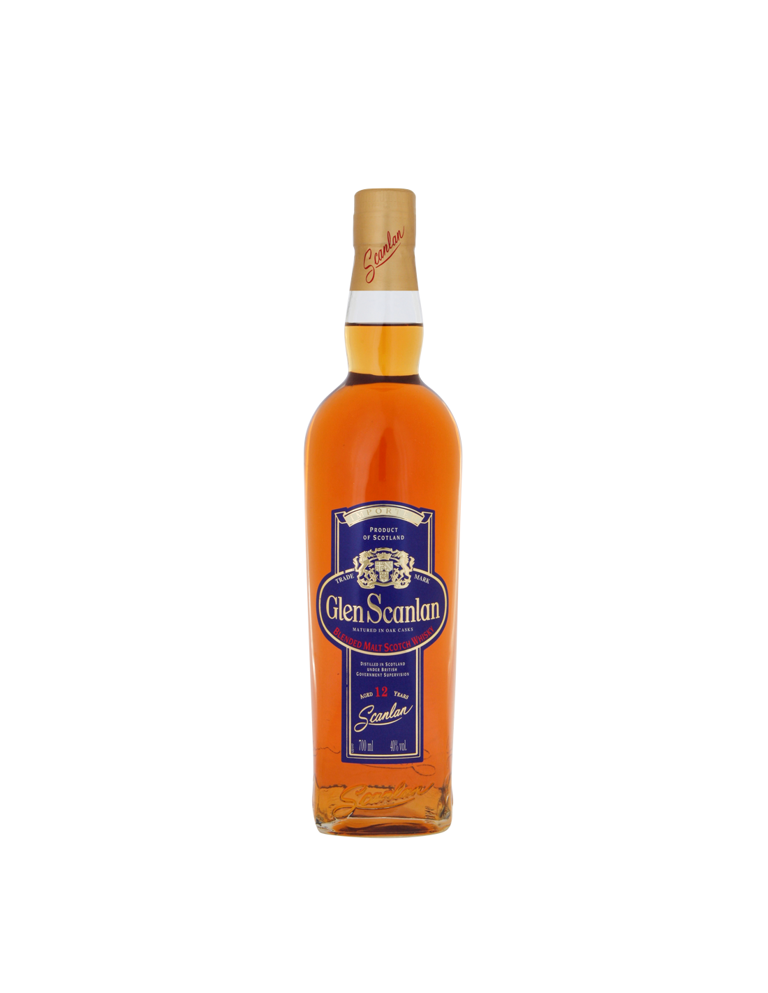 Whisky Glen Scanlan, 12 ani, 40% alc., 0.7L, Scotia