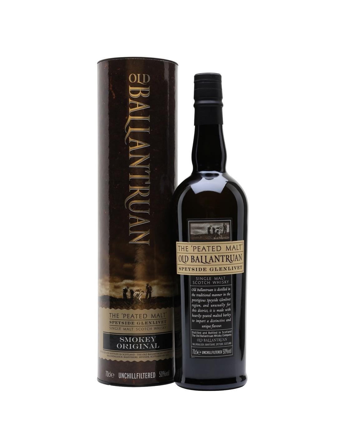 Whisky Old Ballantruan Smokey Original, 0.7L, 50% alc., Scotia