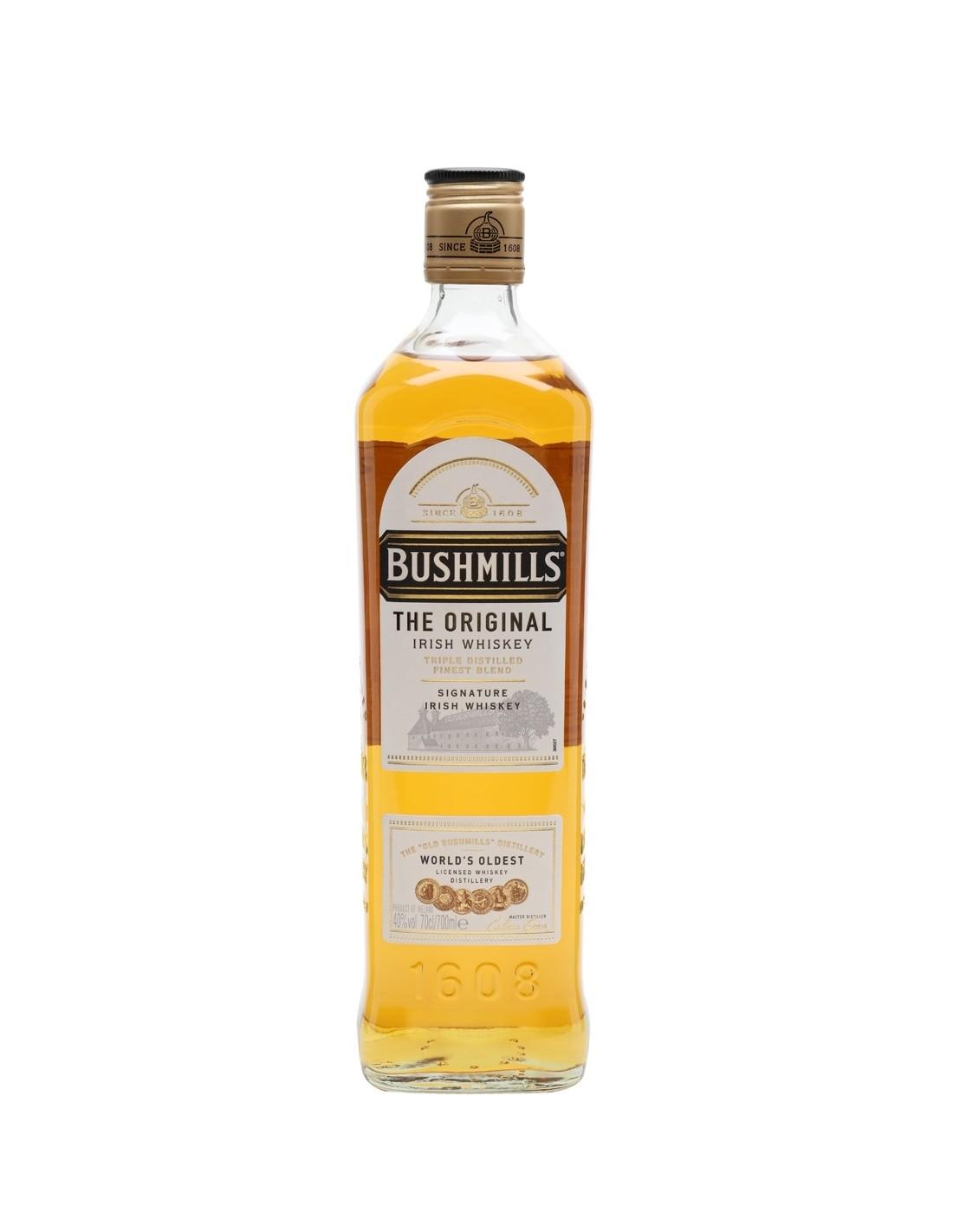 Whisky Bushmills Original, 40% alc., 0.7L, Irlanda