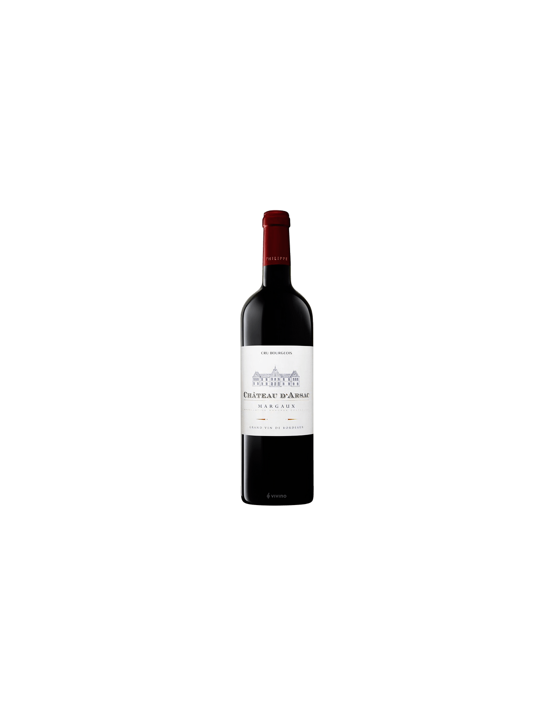 Vin rosu, Cupaj, Chateau DArsac Margaux, 0.75L,13.5% alc., Franta