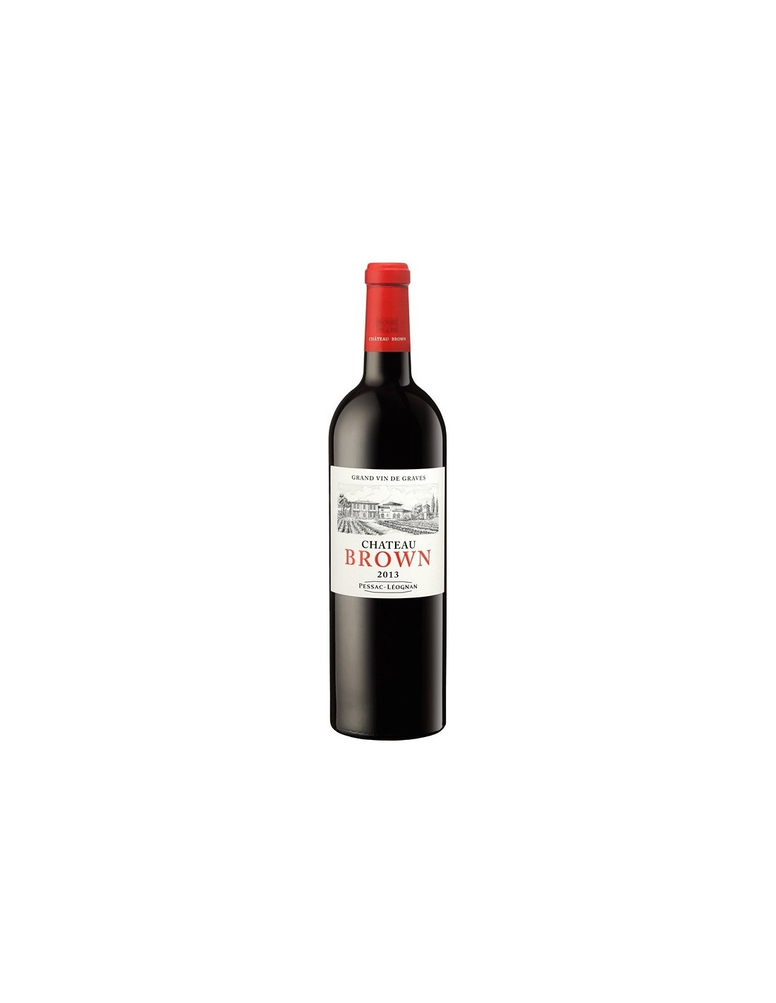 Vin rosu, Cupaj, Chateau Brown Pessac-Leognan, 0.75L, 14% alc., Franta