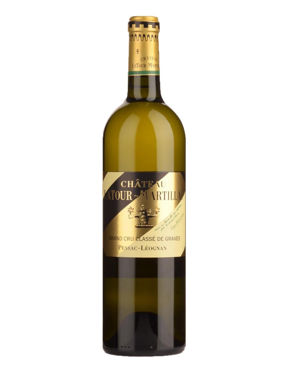 Vin alb, Chateau LaTour-Martillac Pessac-Leognan, 0.75L, 13.5% alc., Franta
