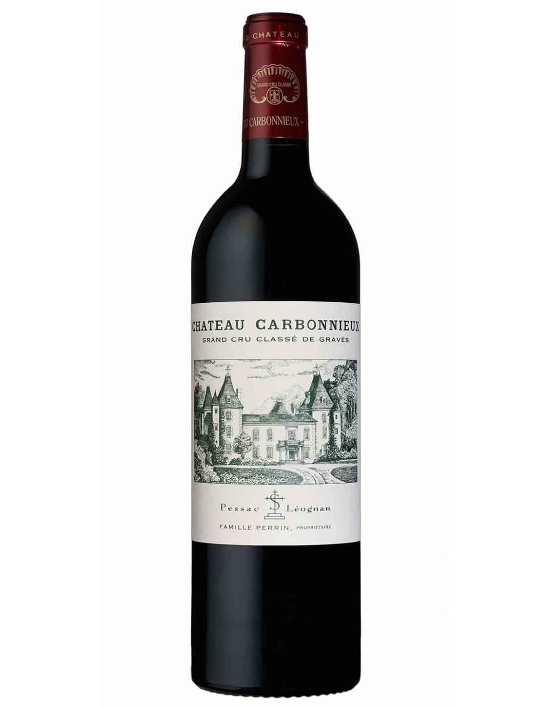 Vin rosu, Cupaj, Chateau Carbonnieux Pessac-Leognan, 0.75L, 13.5% alc., Franta