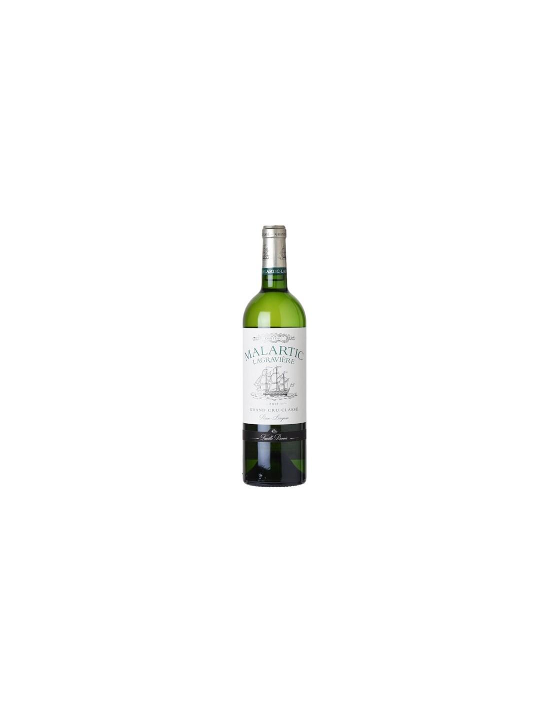 Vin alb, Chateau Malartic Lagraviere Pessac-Leognan, 0.75L, 13.5% alc., Franta