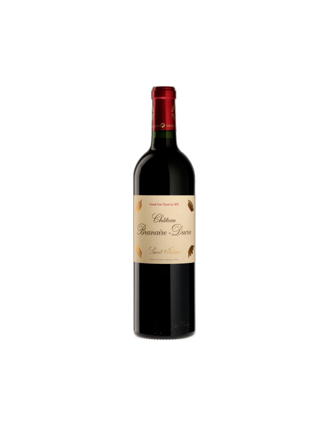 Vin rosu, Chateau Branaire-Ducru Saint Julien, 0.75L, Franta