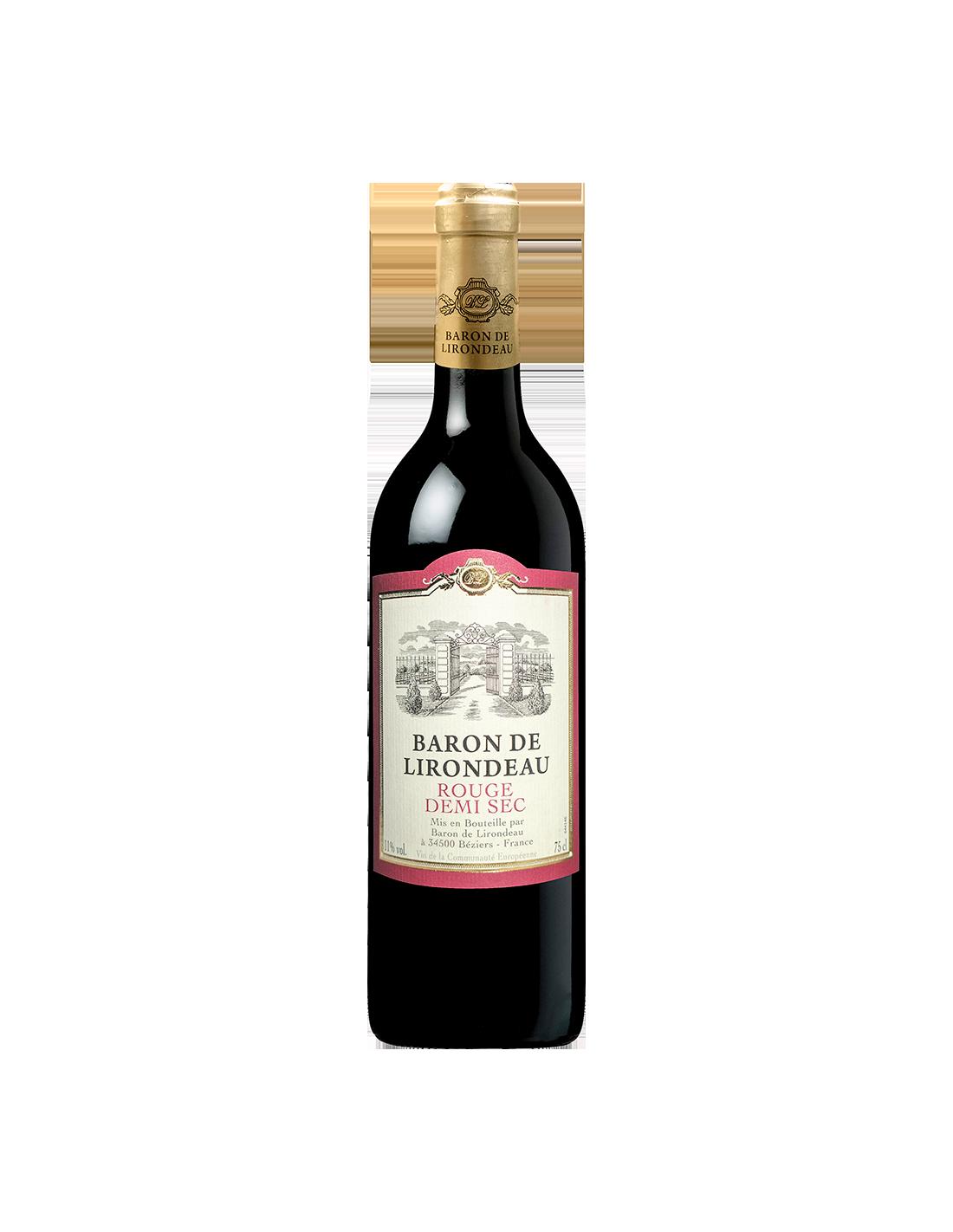 Vin rosu, Cupaj, Baron de Lirondeau Bordeaux, 0.75L, Franta