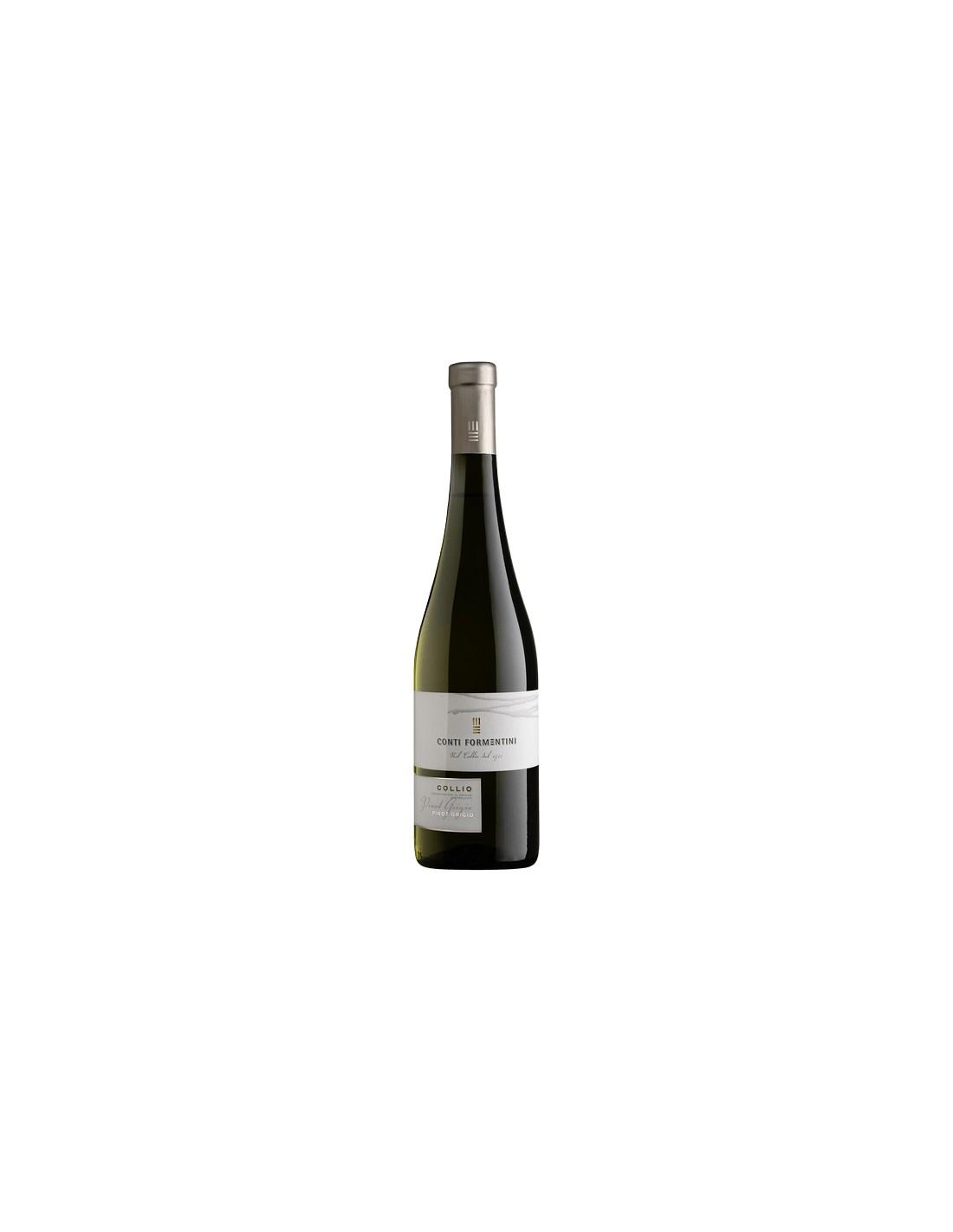 Vin alb, Pinot Grigio, Conti Formentini Collio, 13.5% alc., 0.75L, Italia