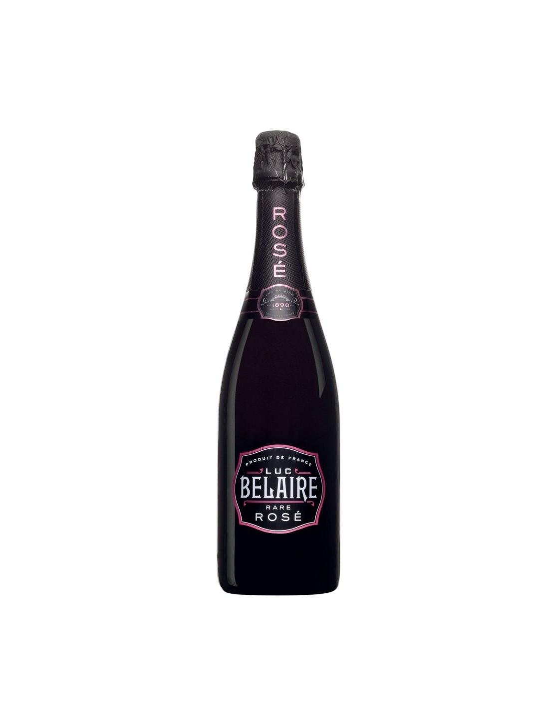 Vin spumant Luc Belaire Fantome Rose, 12.5% alc., 0.75L, Franta