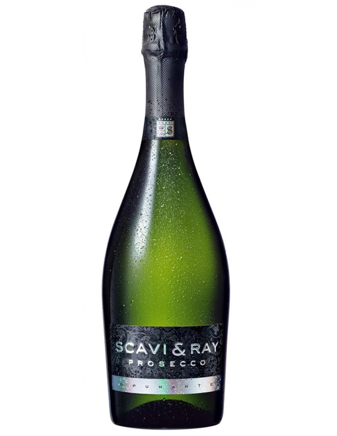 Vin spumant Scavi&Ray Prosecco Extra Dry, 11% alc., 0.75L