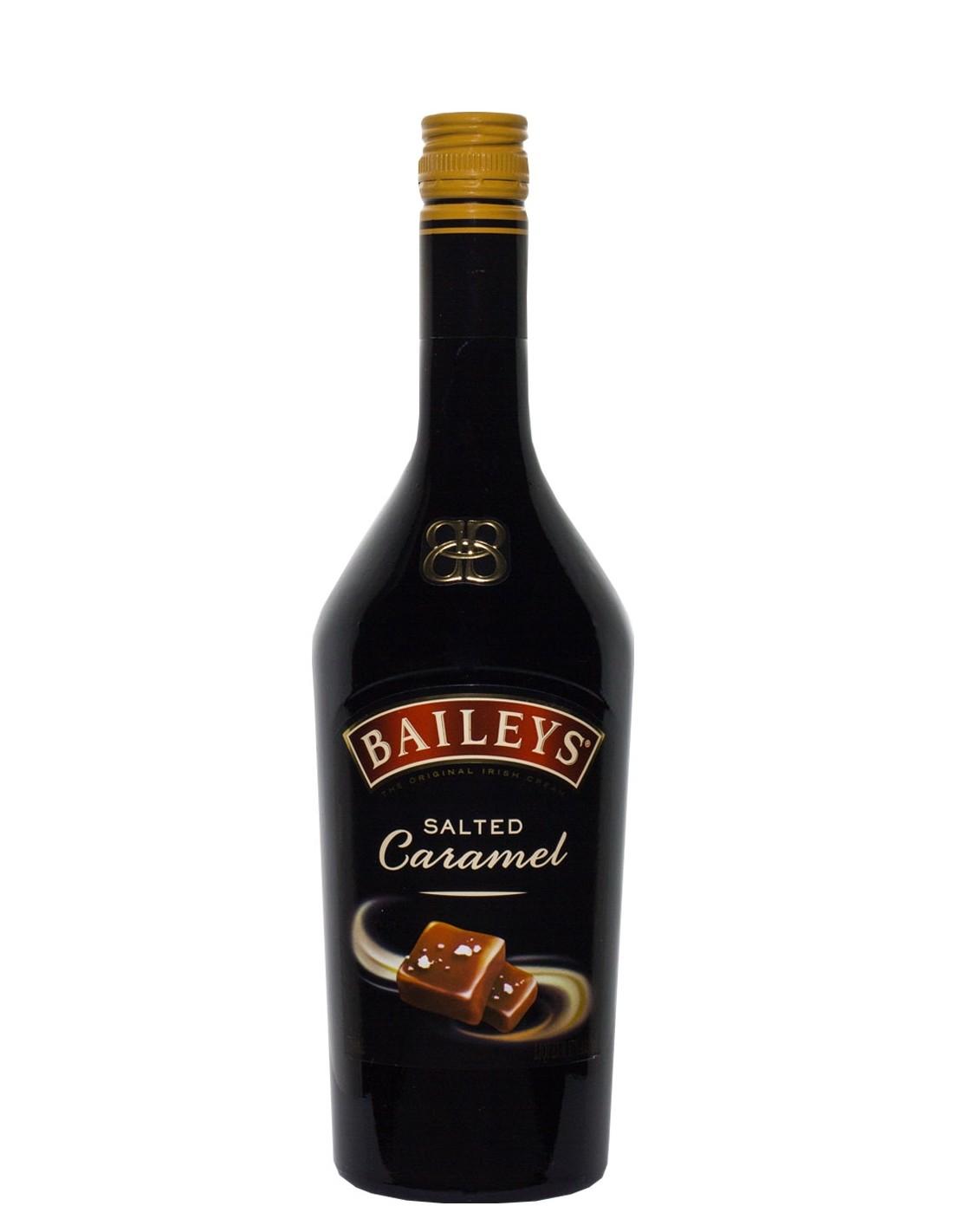 Lichior Baileys Salted Caramel, 17% alc., 0.7L, Irlanda