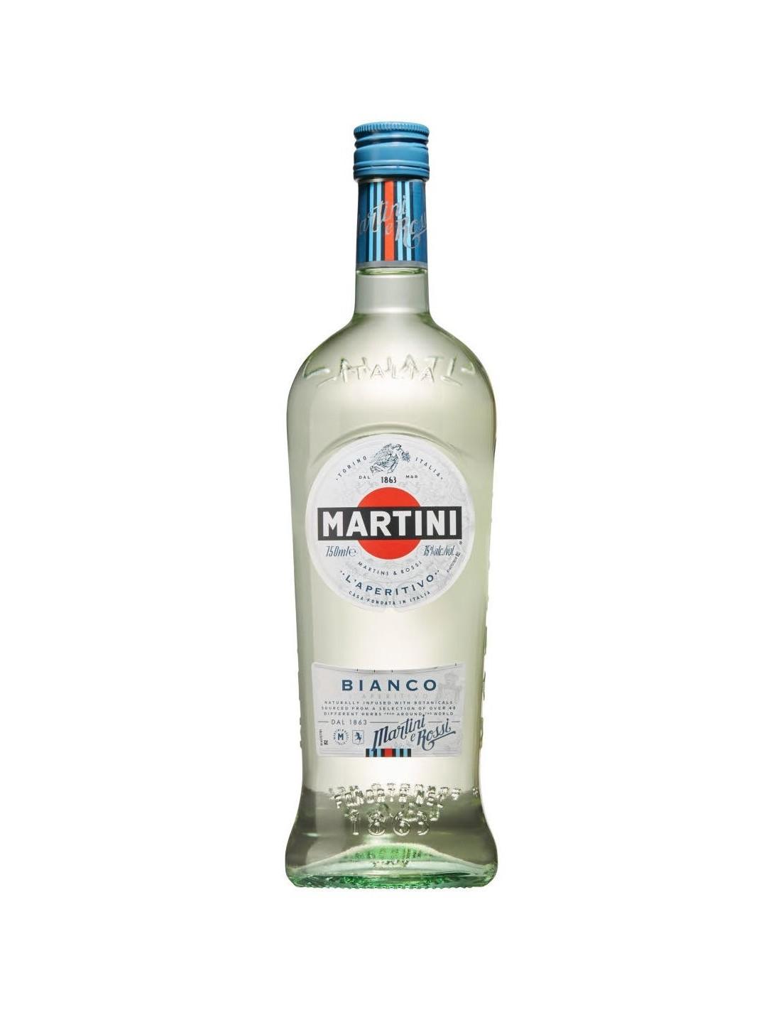 Aperitiv Martini Bianco, 14.4% alc., 1L, Italia
