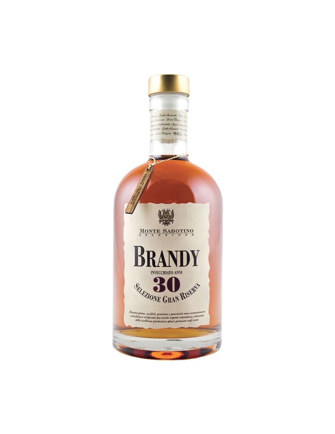 Brandy Monte Sabotino 30 ani Gran Riserva Astuccio, 40% alc., 0.7L, Italia