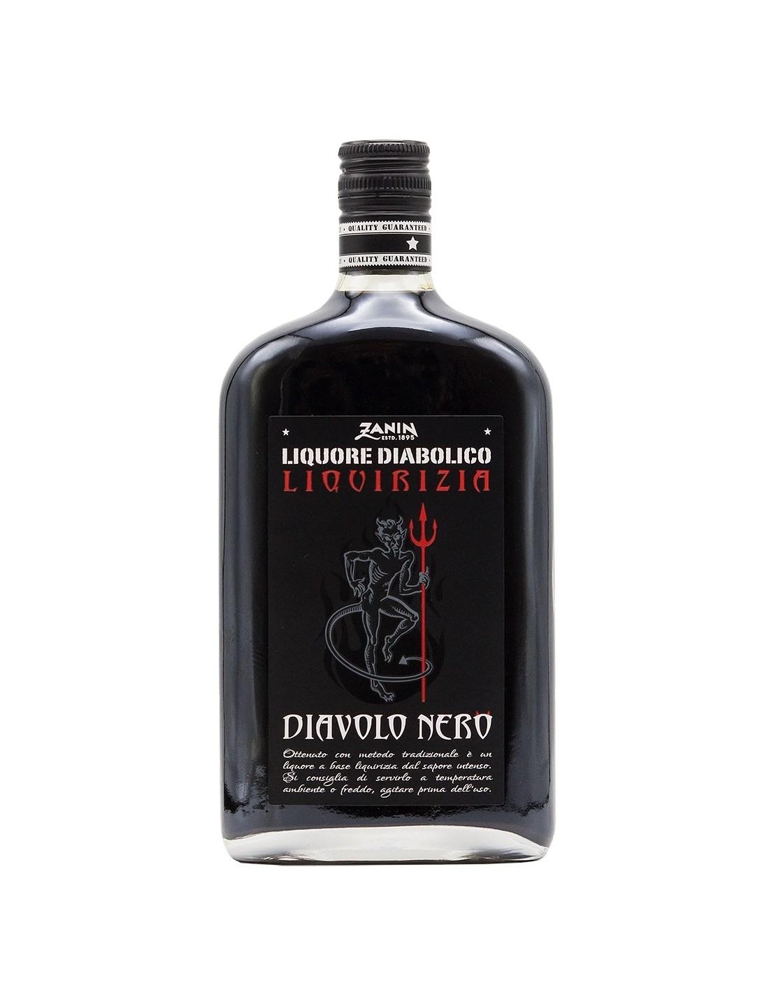 Lichior Diavolo Nero Liquirizia, 25% alc., 0.7L, Italia