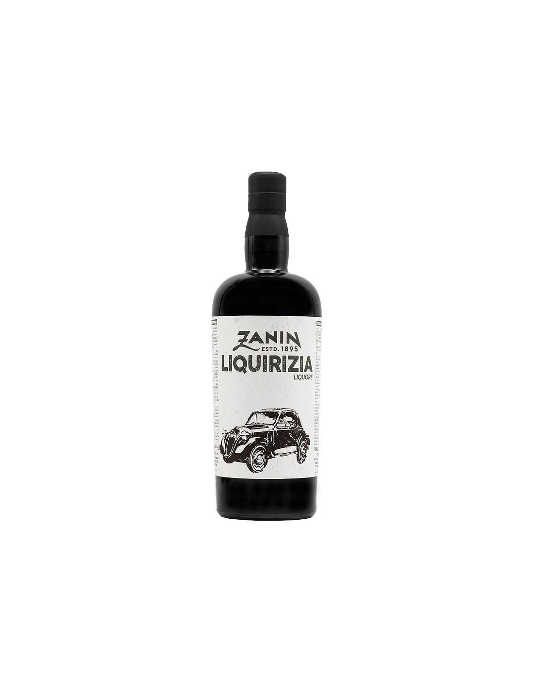 Lichior de lemn Zanin Liquirizia, 25% alc., 0.7L, Italia