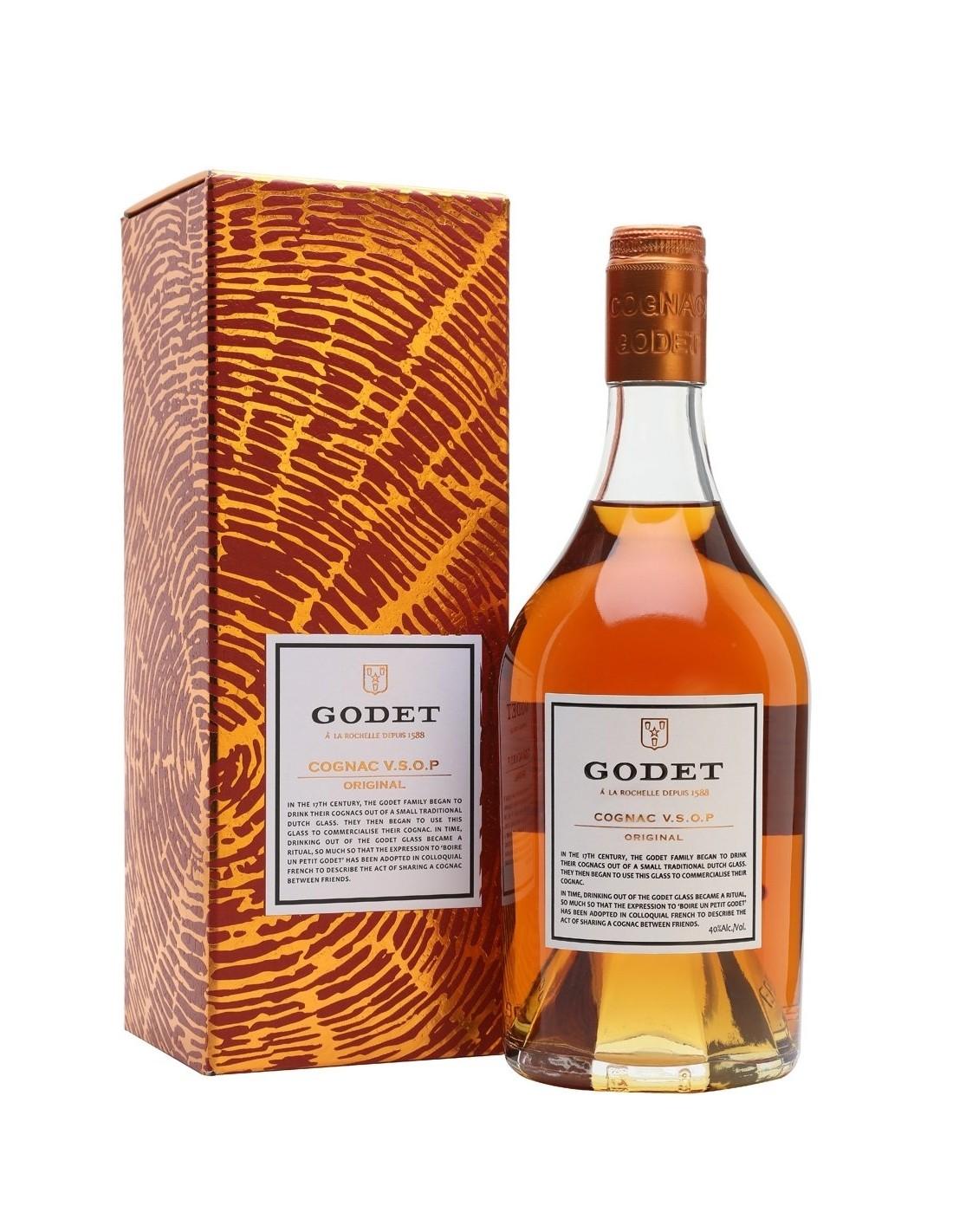 Coniac Godet V.S.O.P Original, 40% alc. 0.7L