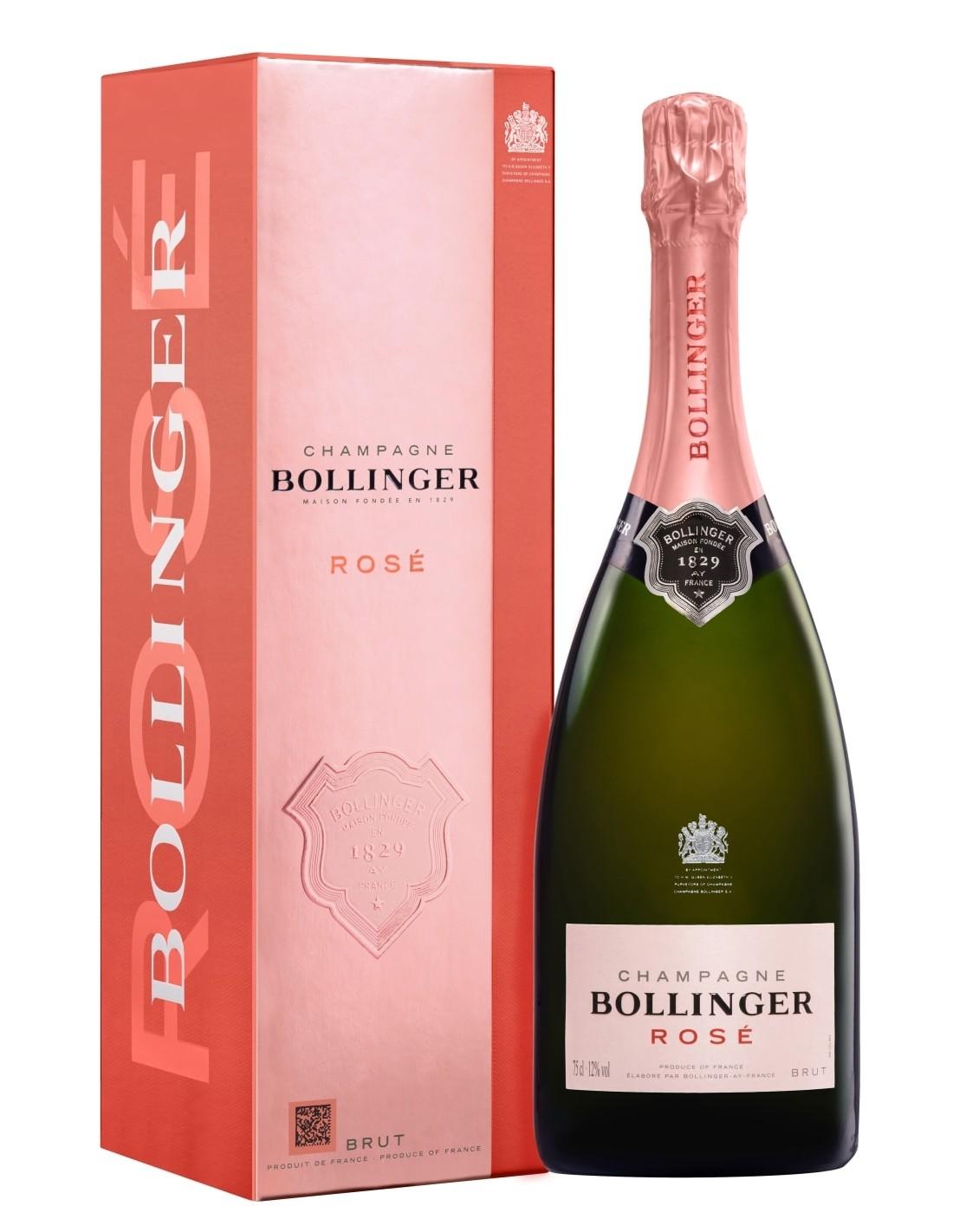 Sampanie Bollinger Rose Brut Champagne, 12% alc. 0.75L, Franta