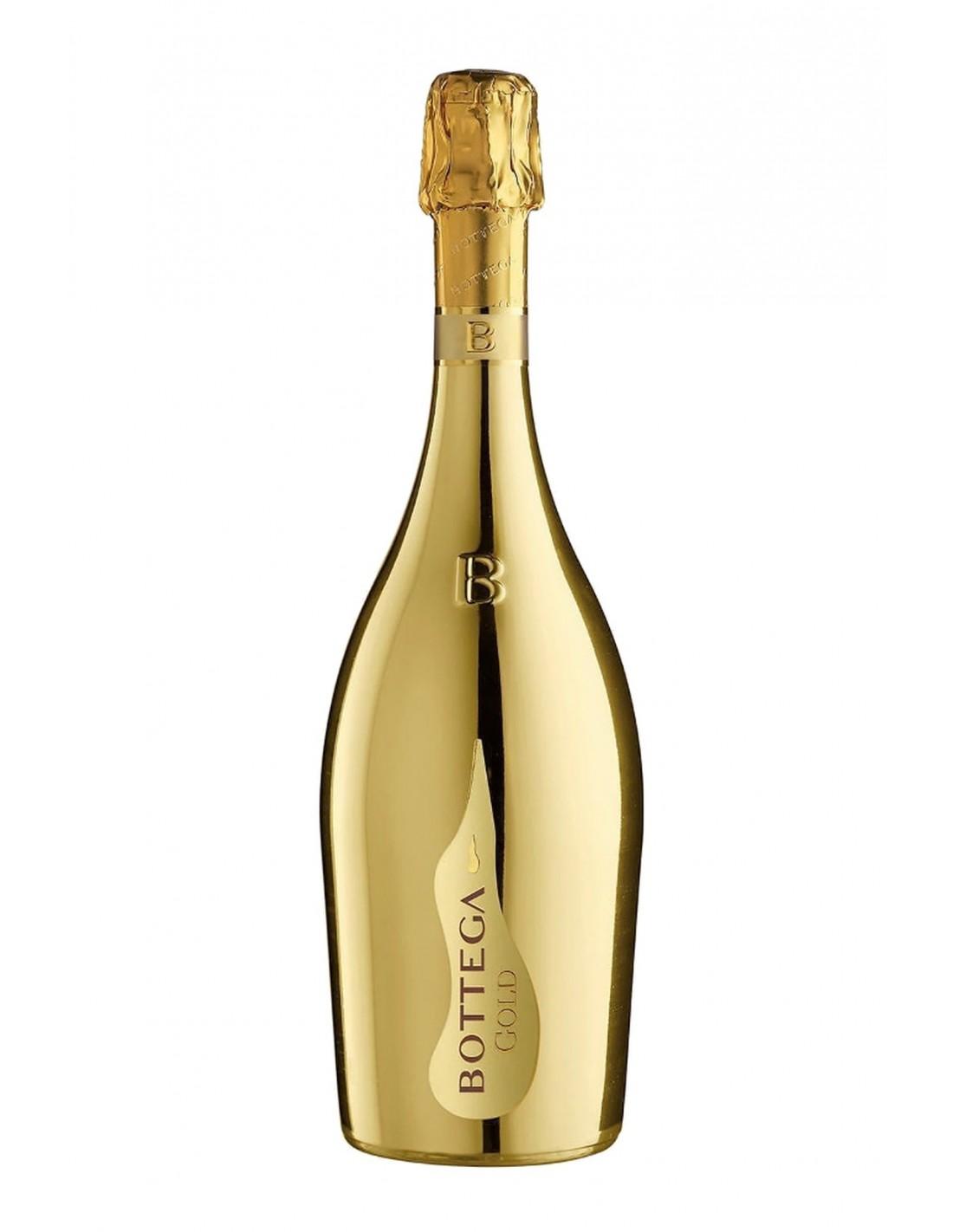 Vin prosecco Bottega Gold, 11% alc, 0.75L, Italia