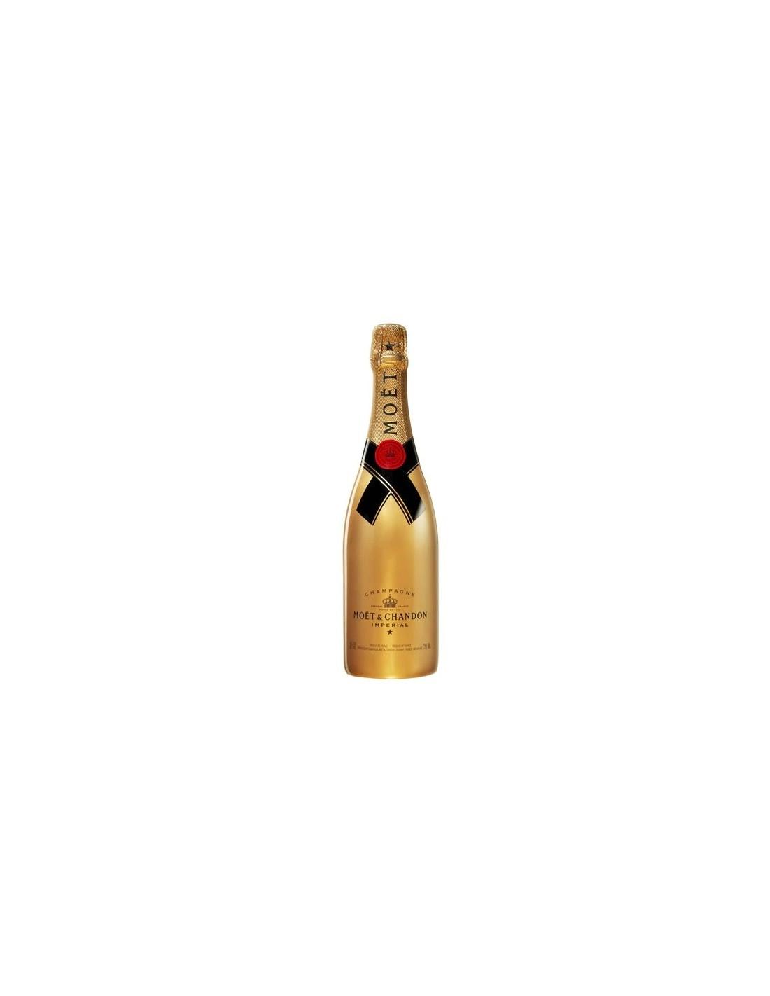 Sampanie Moët & Chandon Gold Brut Impérial Champagne, 0.75L, 12% alc., Franta