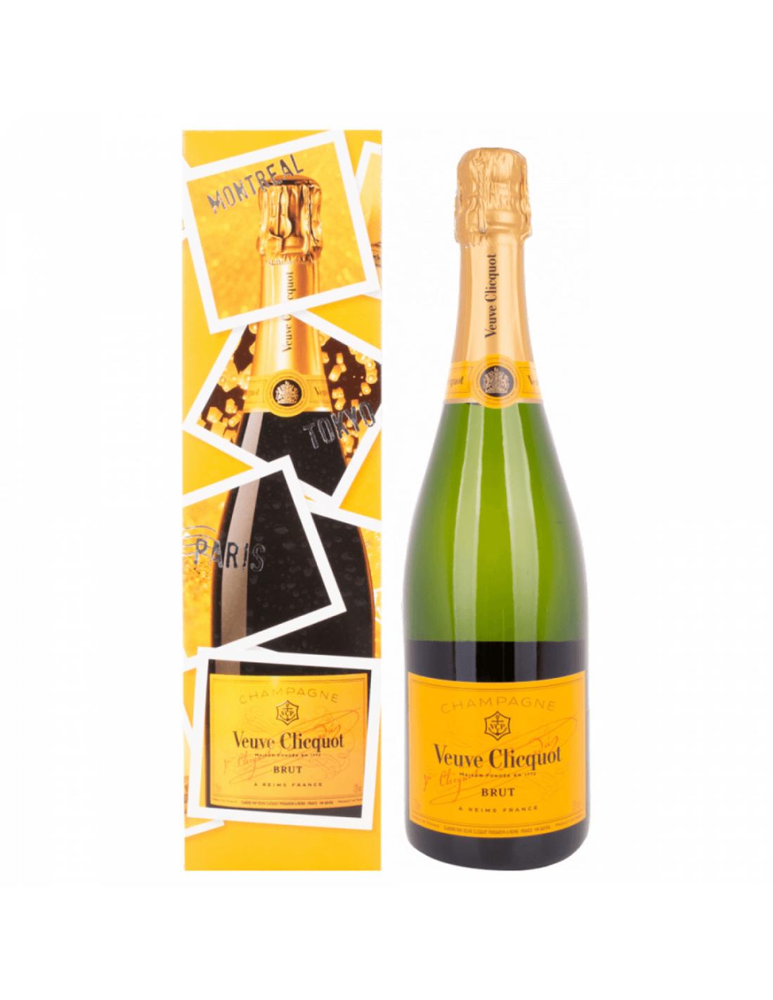 Sampanie Veuve Clicquot Brut Eoy Edition Champagne, 12% alc., 0.75L, Franta