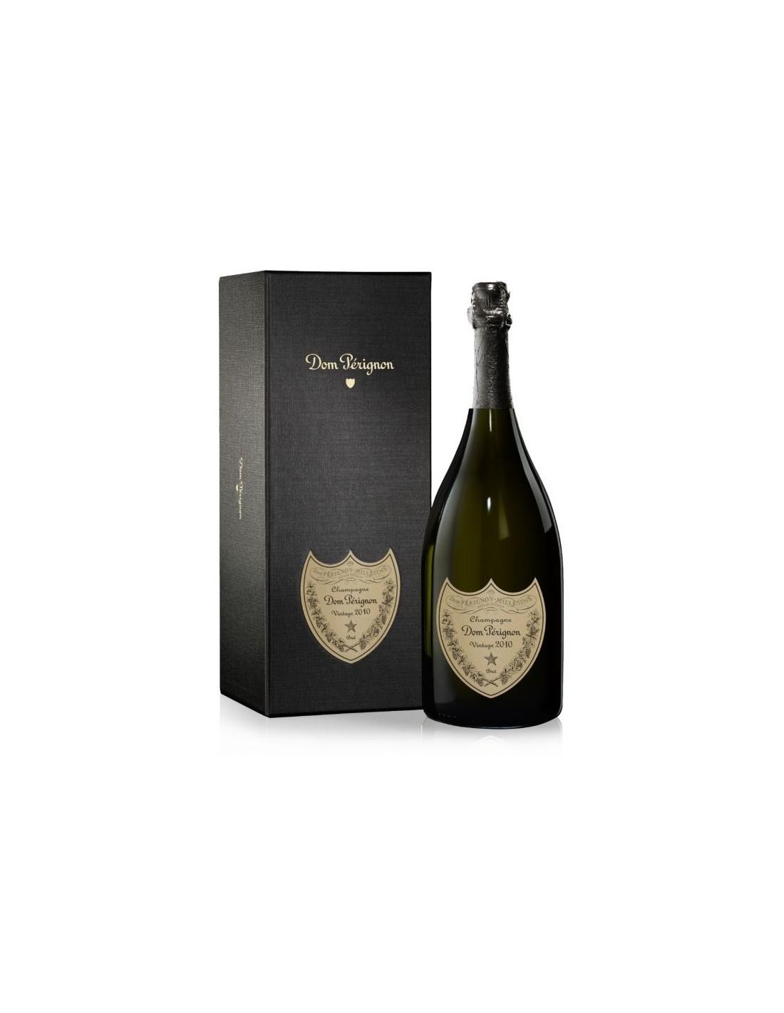Sampanie, Dom Perignon Champagne Vintage 2010, 0.75L, 12.5% alc., Franta