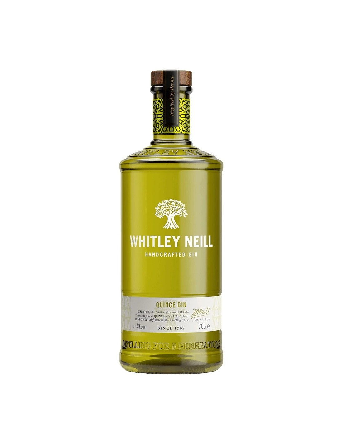 Gin Whitley Neill Quince, 43% alc., 0.7L